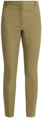 Joseph Zoom mid-rise gabardine cropped trousers