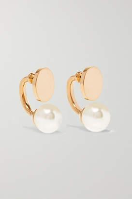 Chloé Darcy Gold-tone Swarovski Pearl Earrings