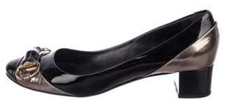Gucci Horsebit Patent Leather Pumps Black Horsebit Patent Leather Pumps