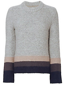 Brochu Walker Ombré Cable Knit Sweater $550 thestylecure.com