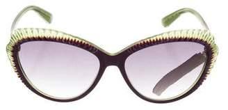 Alexander McQueen Gradient Cat-Eye Sunglasses