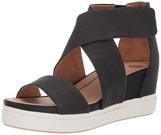 Dr. Scholl's Women's Sheena Wedge Sandal 7.5 M US