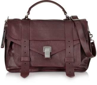 Proenza Schouler PS1 Medium Cordovan Lux Leather Satchel Bag