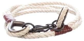 Dolce & Gabbana Rope Waist Belt