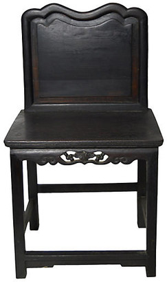 One Kings Lane Vintage Antique Hand-Carved Chinese Chair - FEA Home
