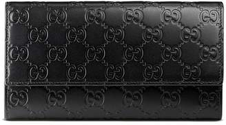 Gucci Signature continental wallet