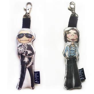 Karl Lagerfeld Kahri Mini & Mini Coco Chanel Charm Set