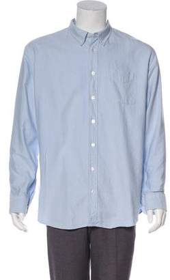 Visvim Elbow Patch Button-Up Shirt