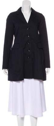 Marc by Marc Jacobs Pleated Short Coat