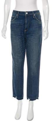 Amo High-Rise Straight-Leg Jeans
