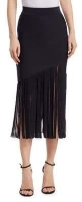 Cushnie et Ochs Fringe-Hem Skirt