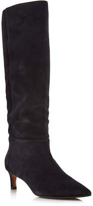 Aquatalia Women's Macey Pointed Toe Suede Boots - 100% Exclusive