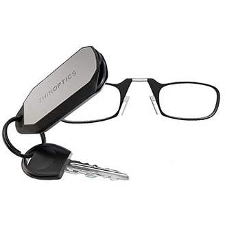 ThinOPTICS ThinOptics Reading Glasses + Keychain Case | Frames, 1.00 Strength