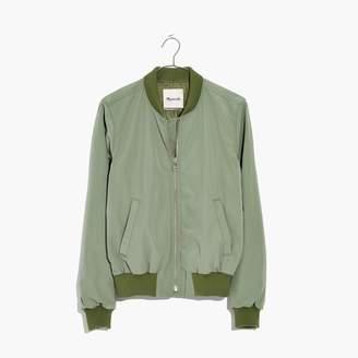 Madewell Side-Zip Bomber Jacket