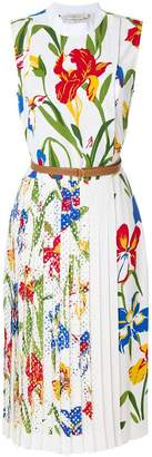 Tory Burch floral print shift dress