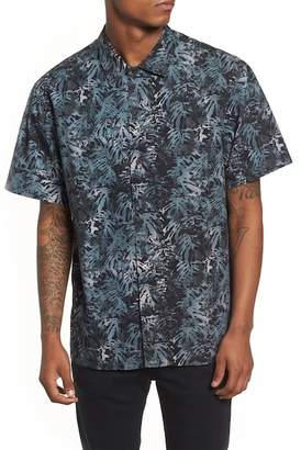 Tavik Villa Palms Short Sleeve Woven Regular Fit Shirt