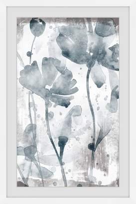 Parvez Taj Dramatic Blooms Framed Printed Wall Art