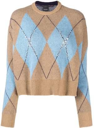 Pinko glitter knit jumper
