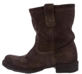 Fiorentini+Baker Suede Mid-Calf Boots