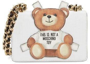 MoschinoMoschino Small Fantasy Bear Shoulder Bag - White