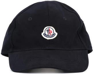 Moncler logo patch cap