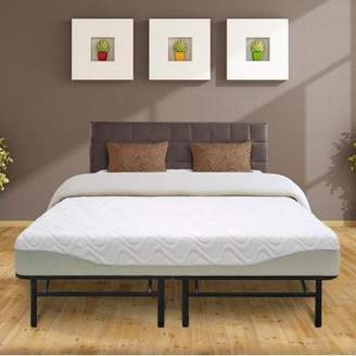Best Price Mattress 11 Inch Gel-infused Memory Foam Mattress and 14 Inch Steel Platform Bed Frame Set, Multiple Sizes