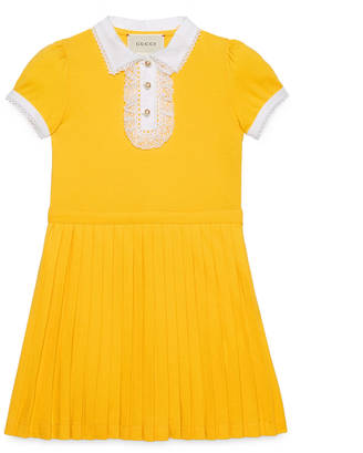 Children's polo dress with lace $430 thestylecure.com