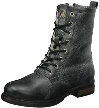 Ca Shott Ca'shott Women's A18014 Combat Boots, (Black West 130)