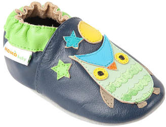 Momo Baby Boys Soft Sole Leather Baby Shoes - Wise Owl