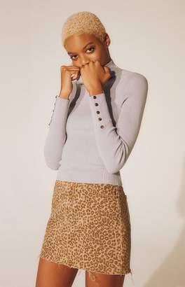 LA Hearts Jessa Mock Neck Sweater