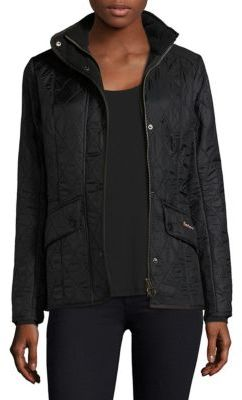 Barbour Calvalry Polarquilt Short Coat $279 thestylecure.com