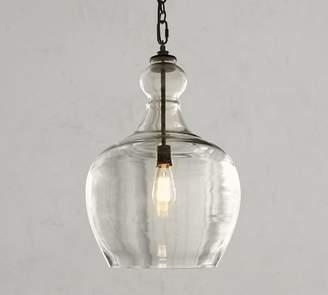 Pottery Barn Flynn Oversized Recycled Glass Pendant