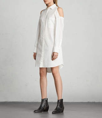 AllSaints Joelle Shirt Dress