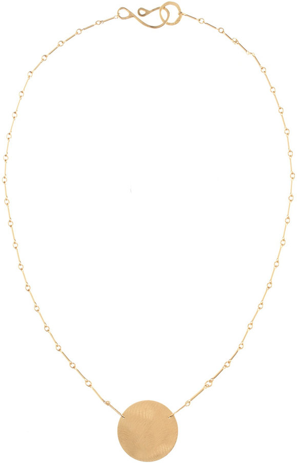 XL Disc Necklace