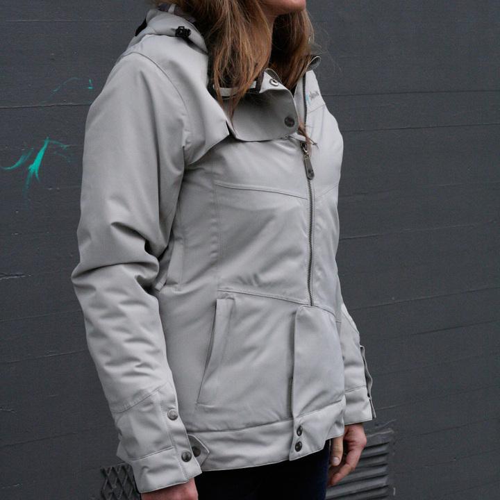 Pop Outerwear Nina Jacket Womens Limestone
