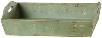 August Grove Ferne Painted Wood Tray with Handle
