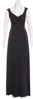 Armani Collezioni Satin Evening Dress $400 thestylecure.com