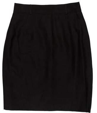 Jean Paul Gaultier Straight Mini Skirt