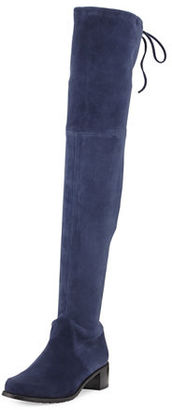 Stuart Weitzman Midland Suede Over-the-Knee Boot $798 thestylecure.com