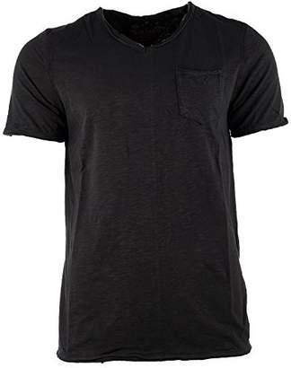 Buffalo David Bitton Men's Kasim Short Sleeve Vneck Fashion T-Shirt