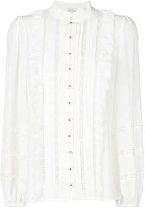 Zimmermann pleated button shirt