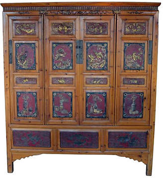 One Kings Lane Vintage Antique Chinese Cabinet