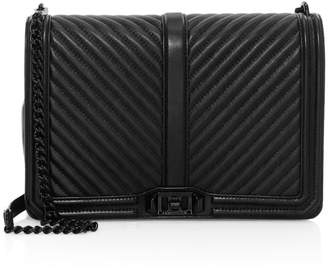 Rebecca Minkoff Jumbo Quilted Chevron Leather Crossbody Bag