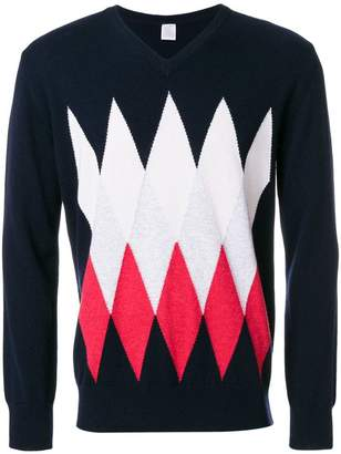 Eleventy argyle jumper