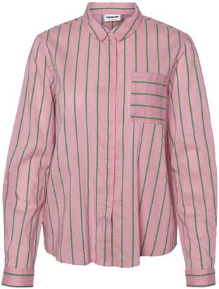 Noisy May Striped Button-Down Shirt
