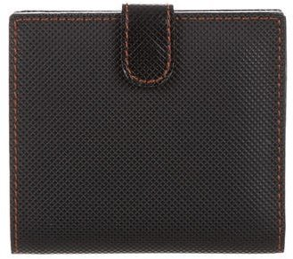 Bottega Veneta Bottega Veneta Embossed Leather Billfold Wallet