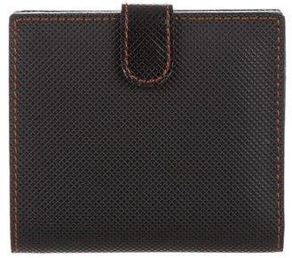 Bottega VenetaBottega Veneta Embossed Leather Billfold Wallet