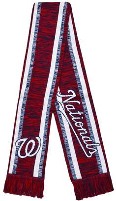 Washington Nationals Knit Team-Color Scarf