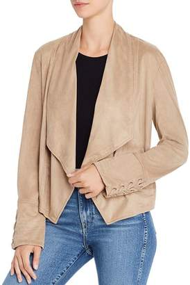 BB Dakota Flip The Stitch Faux Suede Jacket