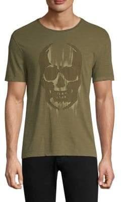 John Varvatos Faded Skull Graphic T-Shirt